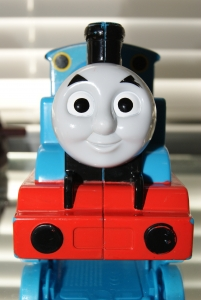 "Thomas the Train be like ""don't be derailed, be a useful engine"""